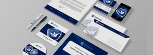 View here Crown Enterprises business stationery