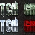 metal texture styles scratch grunge