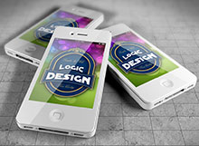 smart phones mock up