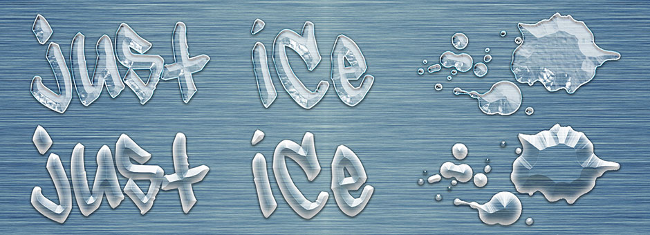 translucent liquid ice styles