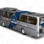 bus mock up back design