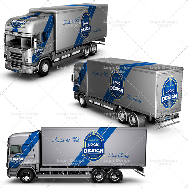truck mock up designs