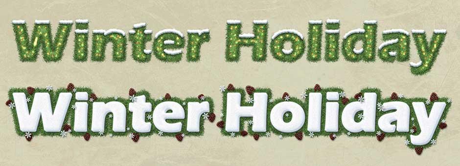 Winter Holiday 1