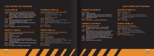 Jazzy Spring - program