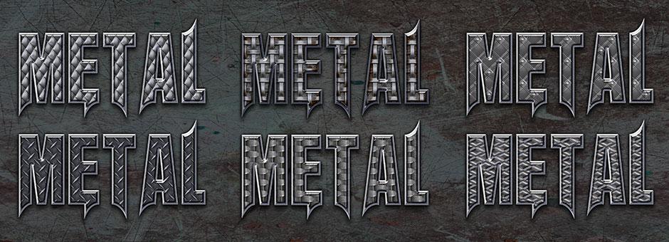 bonded metal style