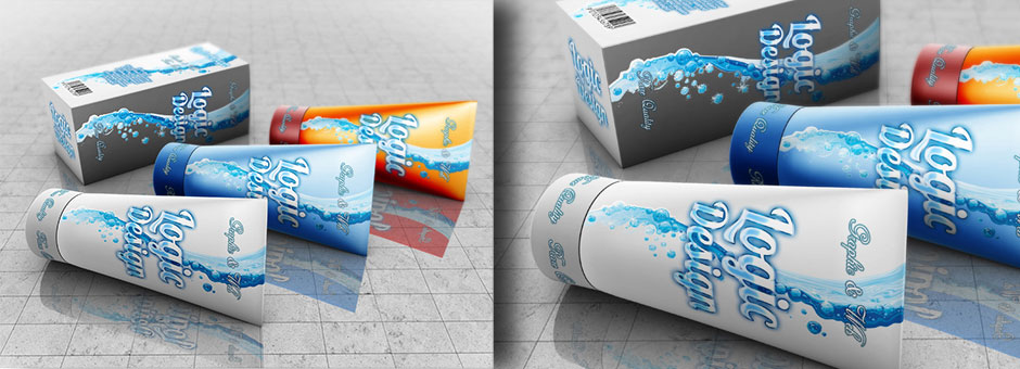 cosmetics beauty products mock up