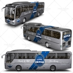bus mock up designs