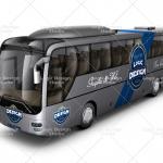 bus mock up front design