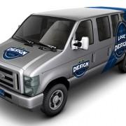Minibus Car Mock-Up