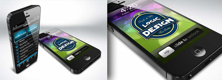 myPhone 5 Mock-Up Kit