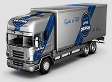 truck mock up