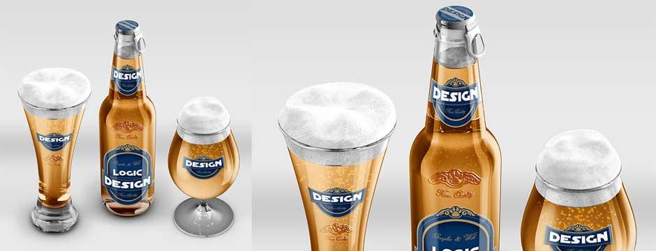 Beer Mock-Up Pack slideshow