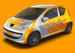 City Car Mock-Up