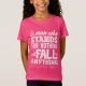 Malcom X Quote Stand and Fall - kids shirt