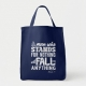 Malcom X Quote Stand and Fall - tote bag