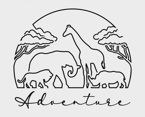 Adventure and safari in Africa