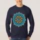 Colored Mandala With An Eye Symbol - shirt