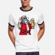 Bad Santa Claus - t-shirt men