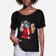 Bad Santa Claus - t-shirt woman