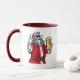 Bad Santa Claus - mug