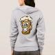 Happy Beer Mug, Cartoon Style - hoodie