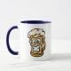 Happy Beer Mug, Cartoon Style - coffee mug