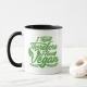 I Think, Therefore I Am Vegan - mug