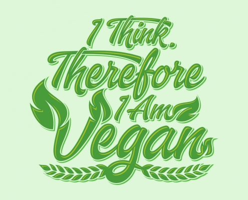 I Think, Therefore I Am Vegan
